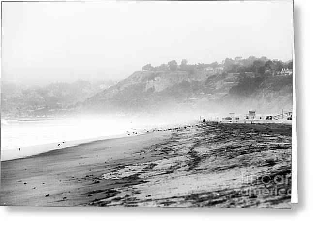 Pacific Ocean Prints Greeting Cards - Fog Rolling In Greeting Card by John Rizzuto