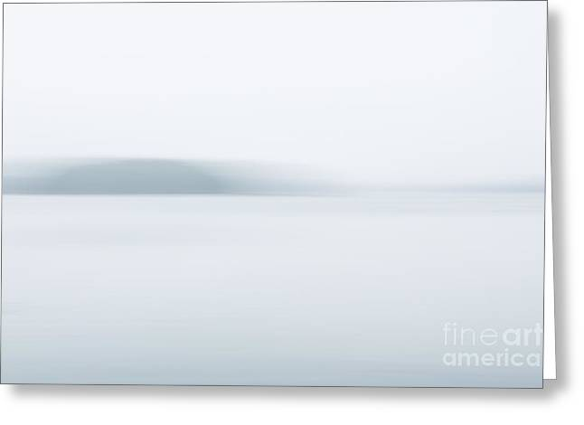 Foggy Bay 2 Greeting Card by Susan Cole Kelly Impressions