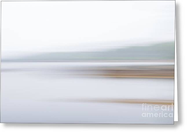 Foggy Bay 3 Greeting Card by Susan Cole Kelly Impressions