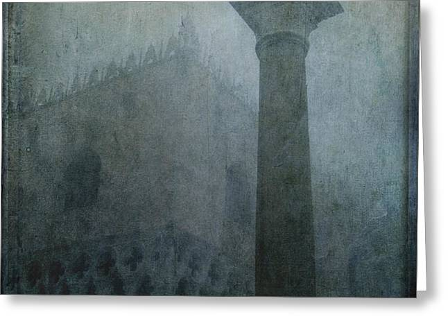 Foggy Morning Greeting Card by Marion Galt