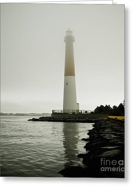 Foggy Beach Greeting Cards - Foggy Morning Greeting Card by Mark Miller