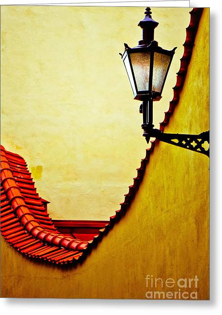 Street Pyrography Greeting Cards - Follow my light Greeting Card by Kirstie H