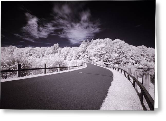 Francis B Greeting Cards - Follow the Road Greeting Card by Crystal Wightman