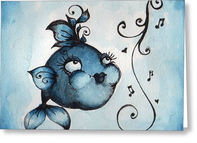 Cheeks Greeting Cards - Follow Your Bliss Greeting Card by Darnel Tasker