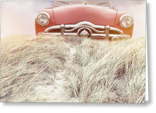 Car Park Greeting Cards - Follow Your Dreams Square Greeting Card by Edward Fielding