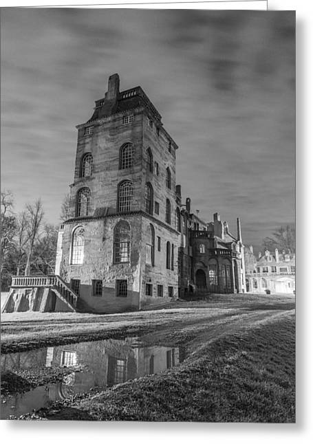 Fonthill Greeting Card by Kristopher Schoenleber