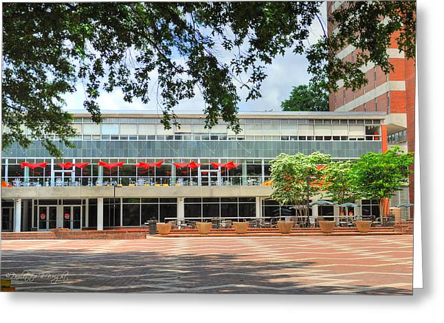 Wolfpack Greeting Cards - Food Court - NC State Main Campus Greeting Card by Paulette B Wright