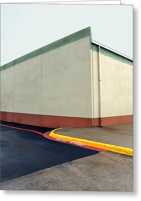 Ross Odom Greeting Cards - Food Store Greeting Card by Ross Odom