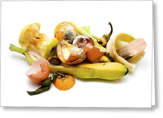 Refuse Greeting Cards - Food waste Greeting Card by Fabrizio Troiani