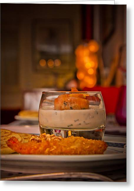 Food With An Atmosphere #01 Greeting Card by Loriental Photography