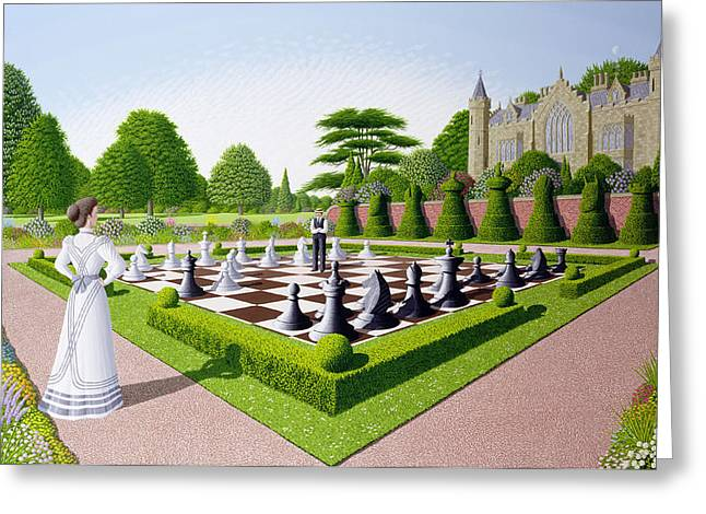 Chess Board Greeting Cards - Fools Mate Greeting Card by Peter Szumowski