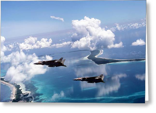 Grumman Greeting Cards - Footprint Of Freedom Greeting Card by Peter Chilelli