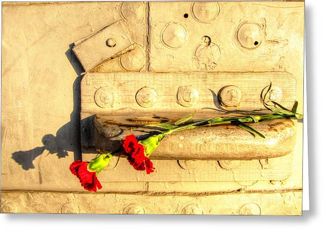For Pyrography Greeting Cards - For Heroes Memorial Greeting Card by Yury Bashkin
