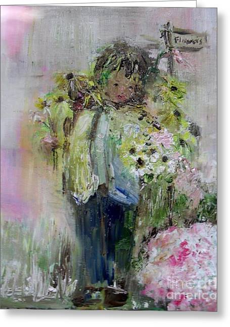 Laurie D Lundquist Greeting Cards - For My Mother Greeting Card by Laurie D Lundquist