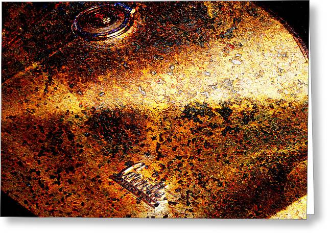 Rusted Cars Greeting Cards - For Sale 1966 Chevrolet Corvette Sting Ray Slight Superficial Body Wear 5D26368 Square Greeting Card by Wingsdomain Art and Photography