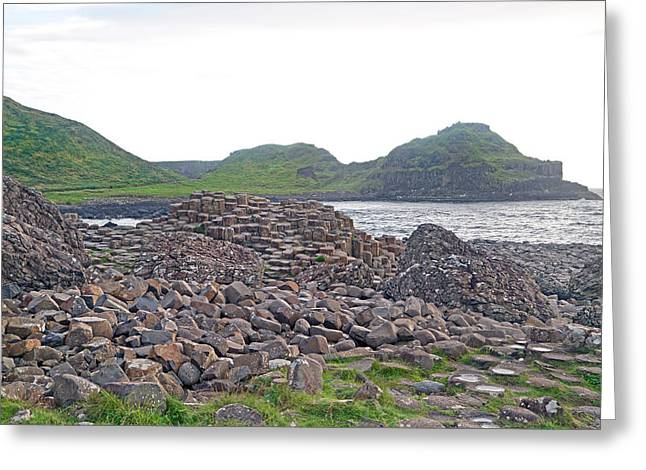 For The Cause -- Giant's Causeway -- Ireland Greeting Card by Betsy Knapp