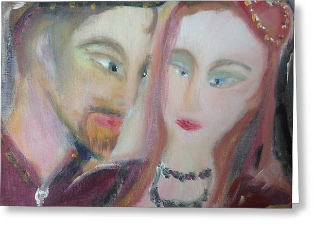 Choosing Paintings Greeting Cards - For the choosing Greeting Card by Judith Desrosiers