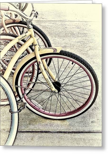 Spokes Greeting Cards - For the Girls Greeting Card by Linda Phelps