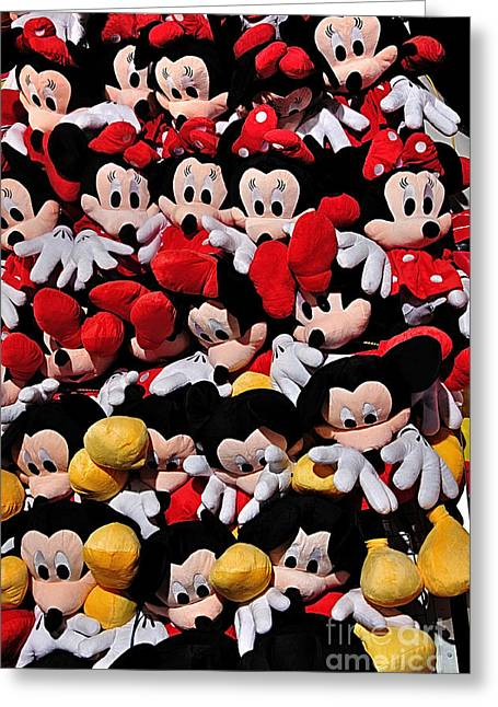 Comic Strip Greeting Cards - For the Mickey Mouse Lovers Greeting Card by Kaye Menner