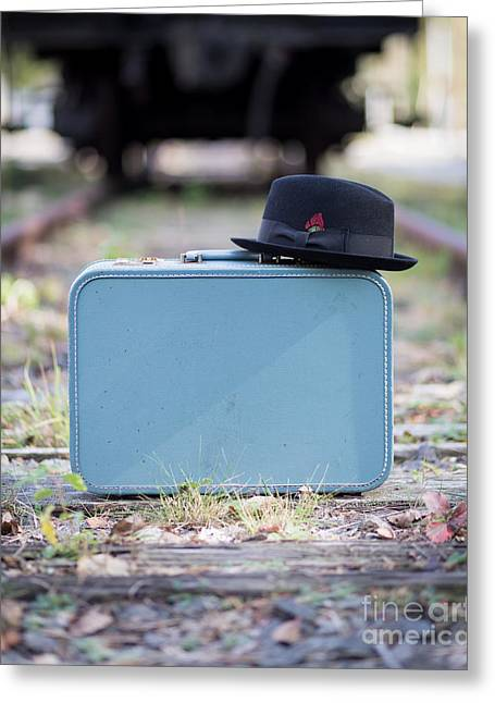 Luggages Greeting Cards - For The Traveler Greeting Card by Edward Fielding
