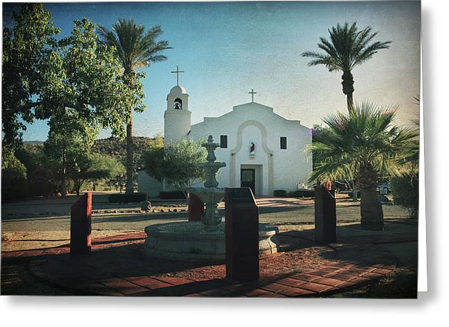 Fountain Digital Art Greeting Cards - For Whom the Bell Tolls Greeting Card by Laurie Search