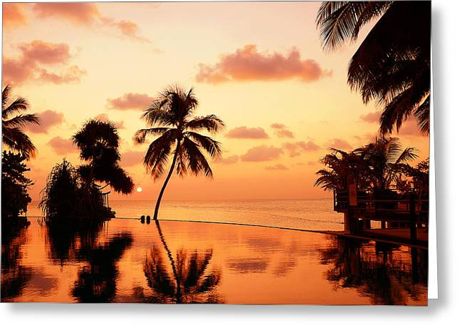 For YOU. Dream Comes True II. Maldives Greeting Card by Jenny Rainbow