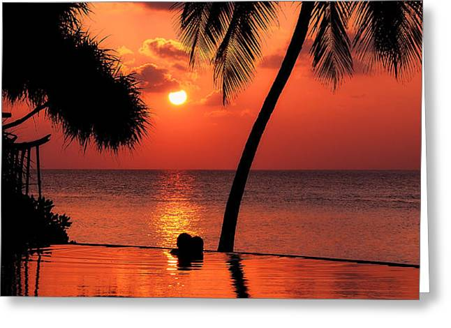 For YOU. Dream Coming True I. Maldives Greeting Card by Jenny Rainbow