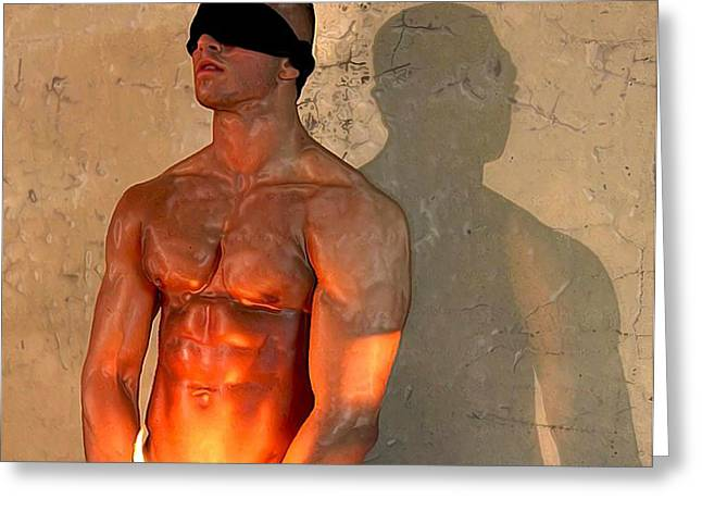 Pecs Digital Greeting Cards - For your eyes only Greeting Card by Bob Bienpensant