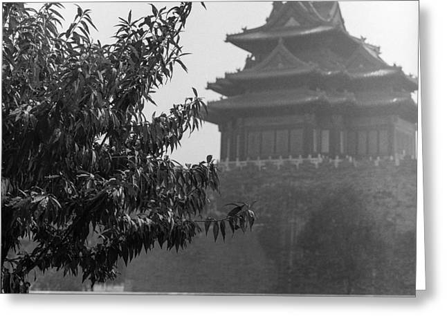 Neely Greeting Cards - Forbidden City Greeting Card by Brian Neely