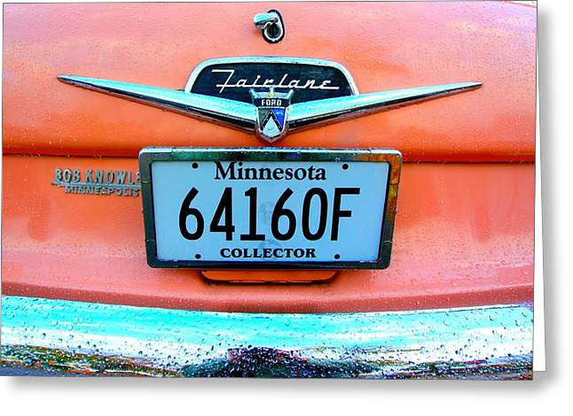Minnesota Licence Plates Greeting Cards - Ford 1 Greeting Card by Amanda Stadther
