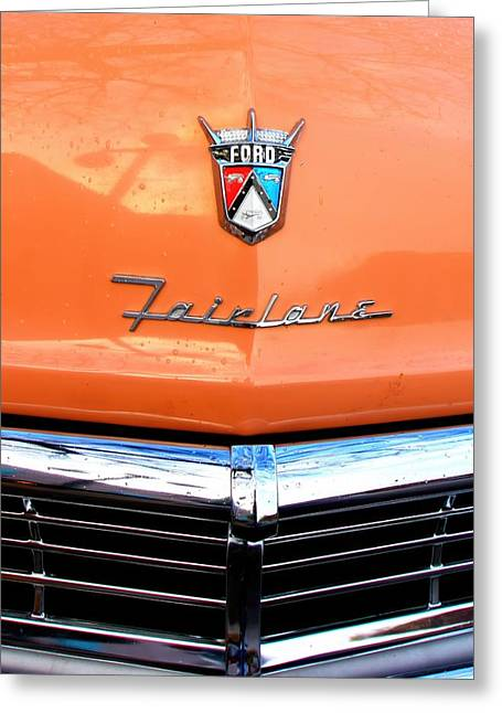 Minnesota Licence Plates Greeting Cards - Ford 2 Greeting Card by Amanda Stadther