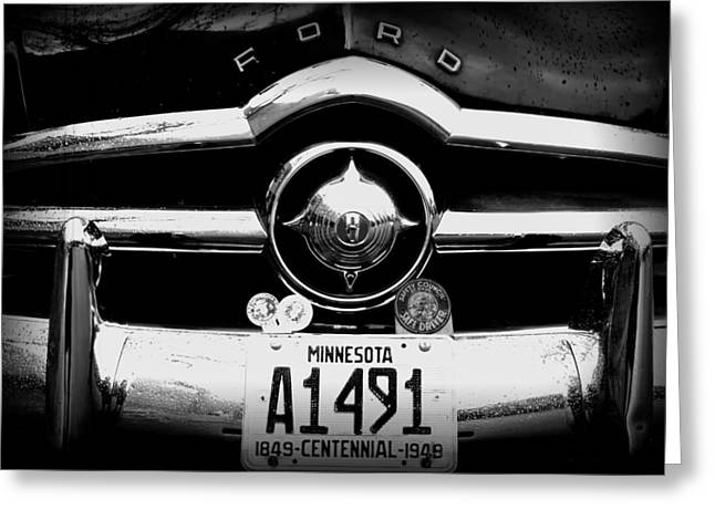 Minnesota Licence Plates Greeting Cards - Ford 4 Greeting Card by Amanda Stadther