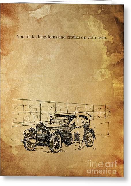 Ford And The Baseball Star Greeting Card by Pablo Franchi