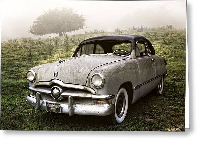 Delux Greeting Cards - Ford Custom Greeting Card by Debra and Dave Vanderlaan