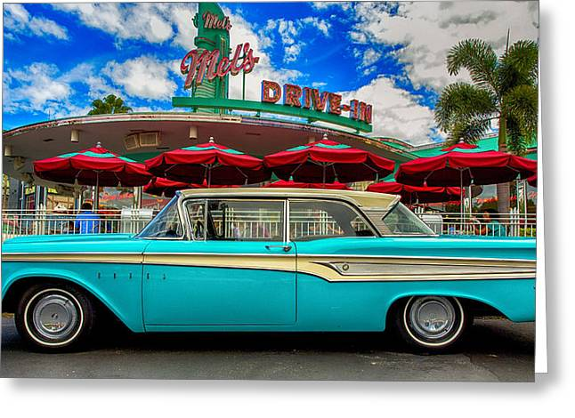 Ford Edsel Classic Greeting Card by Bill Tiepelman