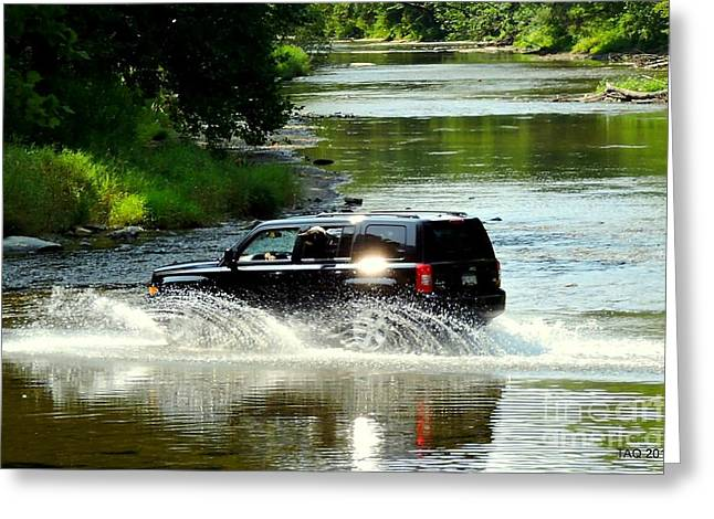 Ford Every Stream Greeting Card by Tami Quigley