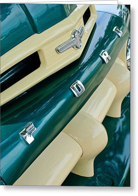Ford Photographs Greeting Cards - Ford F-2 Truck Grille Greeting Card by Jill Reger
