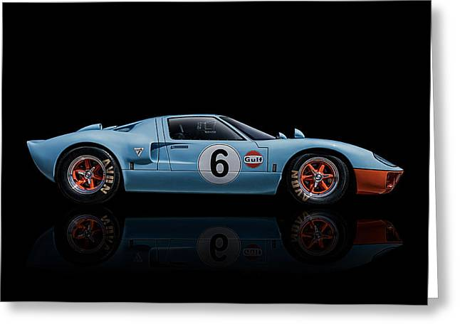 Ford Greeting Cards - Ford GT 40 Greeting Card by Douglas Pittman