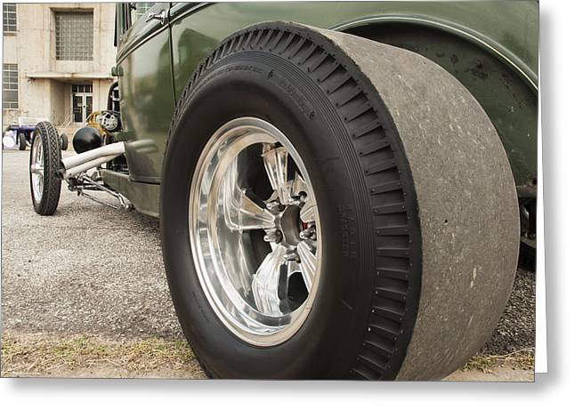 Ford Hotrod Greeting Cards - Ford Model A Hotrod Greeting Card by Todd Aaron
