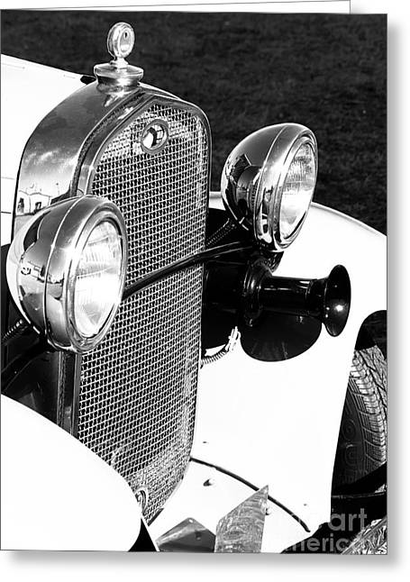 Ford Model T Car Greeting Cards - Ford Model A Greeting Card by Robert Yaeger