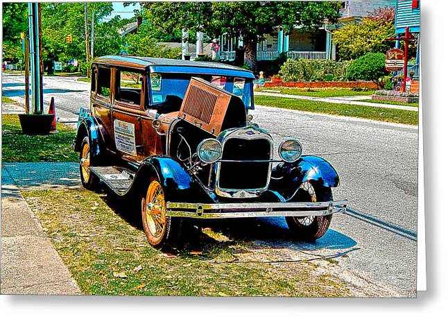 Ford Model T Car Greeting Cards - Ford Model T Greeting Card by Michael Genova