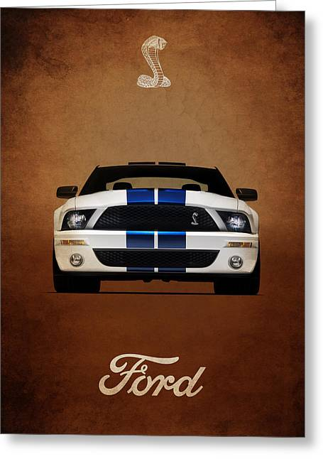 Mustang Greeting Cards - Ford Mustang Shelby 06 Greeting Card by Mark Rogan