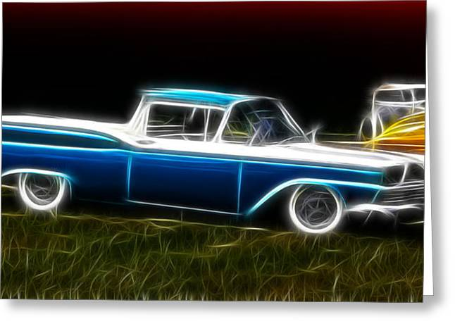1950-1959 Greeting Cards - Ford Ranchero Greeting Card by Steve McKinzie