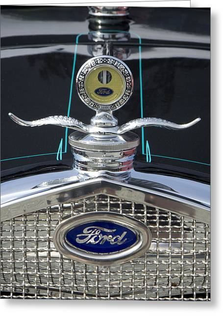 Thermostat Greeting Cards - Ford Greeting Card by Ron Roberts