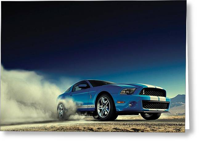 Ford Shelby G T 500 Greeting Card by Movie Poster Prints