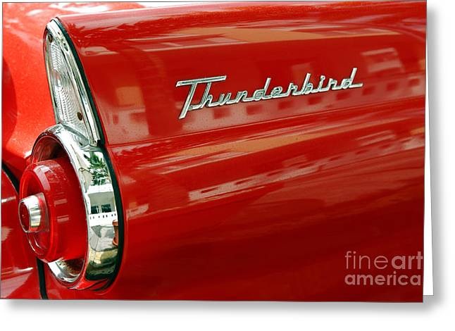 T-bird 1 Greeting Card by Rod McLean