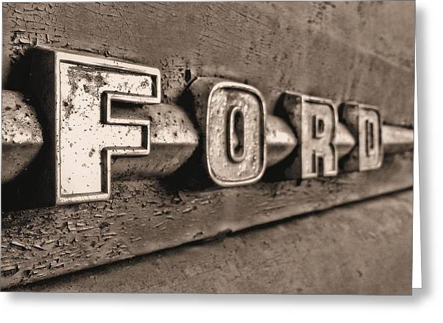 Ford Tough Greeting Card by JC Findley