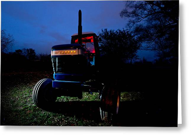 Ford Tractor Greeting Card by Cale Best