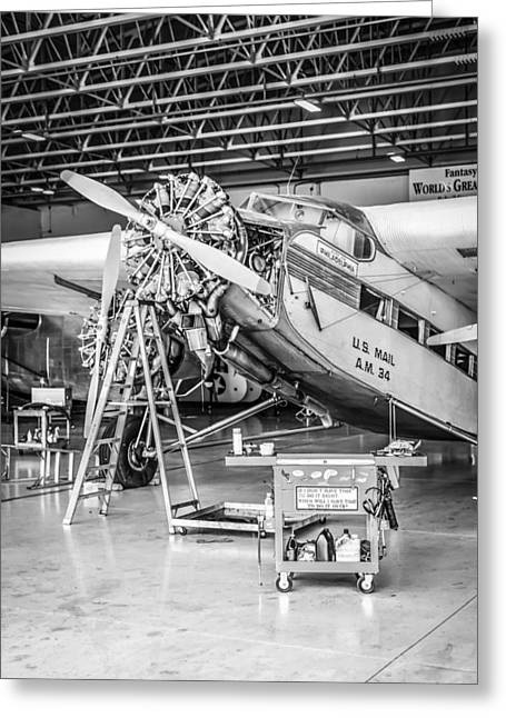 Ford Tri-motor Greeting Cards - Ford Tri-Motor Greeting Card by Chris Smith
