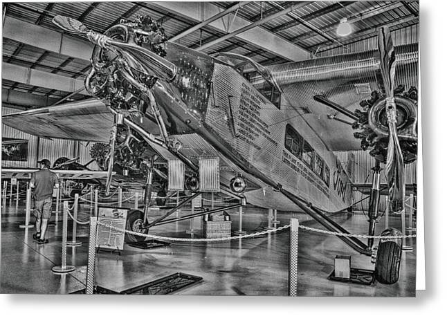 Ford Trimotor Greeting Cards - Ford Tri-Motor Greeting Card by Todd and candice Dailey